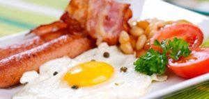 b&b breakfast irlande peche